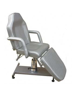 1061 - Fotele kosmetyczne hydrauliczne srebrny