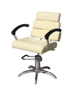 Fotel fryzjerski SYRACUS 1147 beżowy