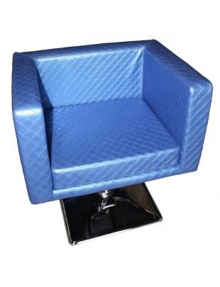 Fotel fryzjerski MASSA 1374 niebieski