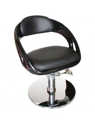 Avellino 1753 - Fotel fryzjerski czarny