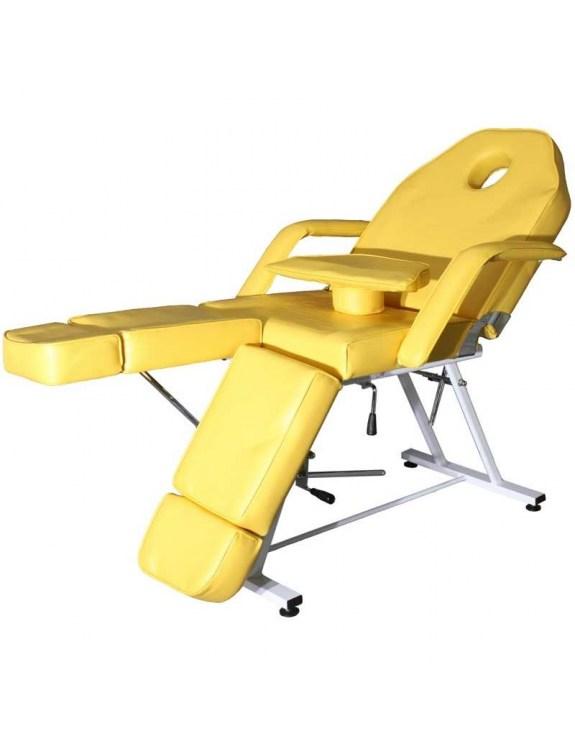 Fotel kosmetyczny 1406 (żółty)