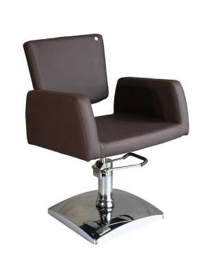 Fotel fryzjerski FIGARO GENOVA 1164 brązowy
