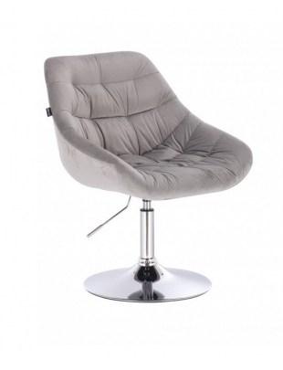 MELVIN - Krzesło kosmetyczne stalowe dysk