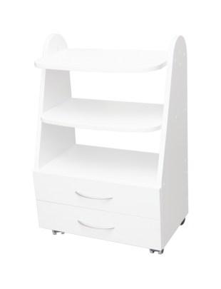Stolik Mezo Plus z dwiema szufladami