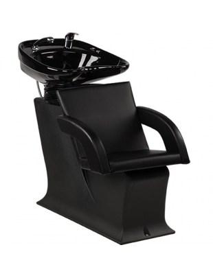 Myjnia Fryzjerska Lady Tina - czarny fotel - Ayala 48h
