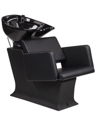 Myjnia Fryzjerska Lady C Lea czarny fotel - Ayala 48h