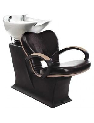 Myjnia Fryzjerska Lady Clio - brązowo beżowy fotel - Ayala 48h