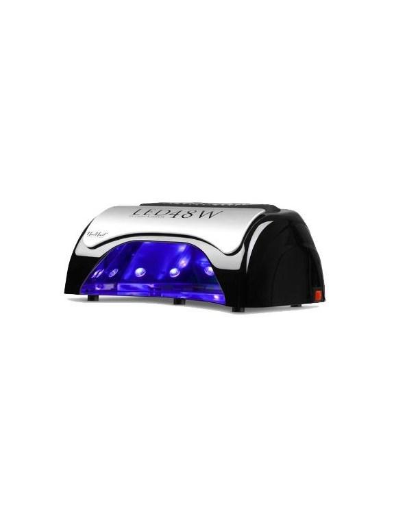 Utwardzarka LED 48W - lampa led - czarna