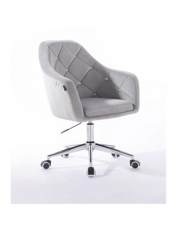 Blerm glat – krzesło kosmetyczne stalowe kółka