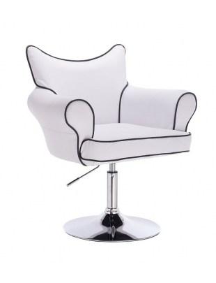 Fotel fryzjerski Czester - biały