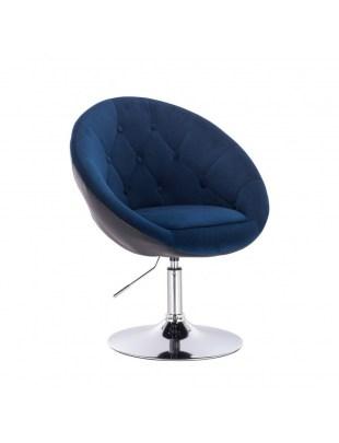 BOL II - krzesło kosmetyczne malinowo białe