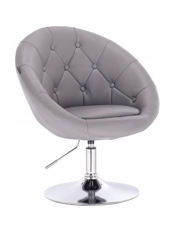 Fotel kosmetyczny HC-8516K SZARY