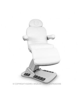 Fotel kosmetyczny NIKO obrotowy biały
