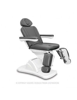 Fotel podologiczny MEDICO II PLUS grafit