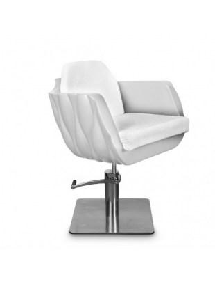 Fotel fryzjerski MILA biały
