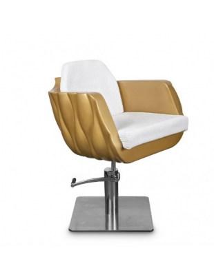 Fotel fryzjerski MILA złoty