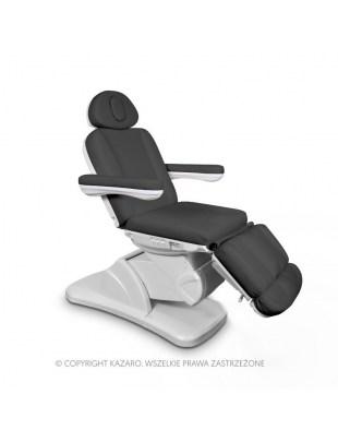 Fotel kosmetyczny MEDICO II PLUS z podgrzewaniem grafit