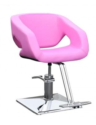 2010 fotel fryzjerski CATANIA różowe