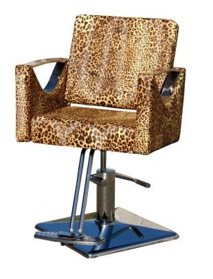 1998 - Fotel fryzjerski MESSINA Leopard-nature