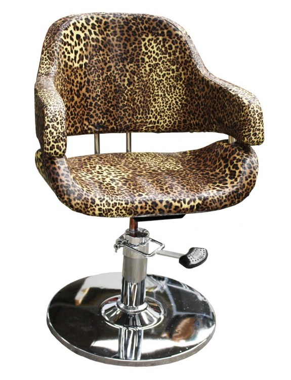 1897 - Fotel fryzjerski VIGO Leopard-nature