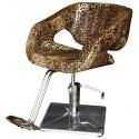 2010 - Fotel fryzjerski CATANIA Leopard-nature