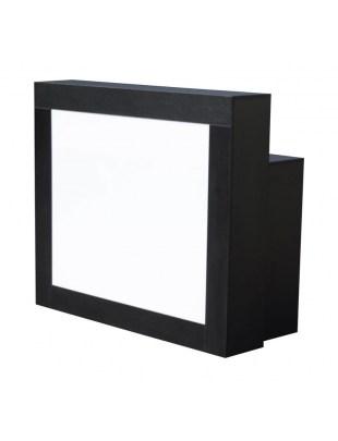 2065 - RECEPCJA z diodą LED, 2 komory, kolor czarny