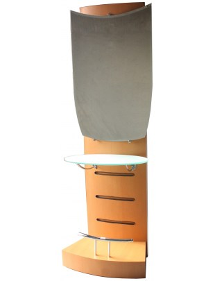 1130 - KONSOLA FRYZJERSKA CORTINA 1-stronny Barber Mirror
