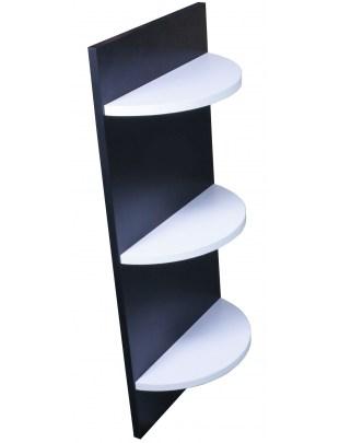 1989 - półka wisząca czarno-biała