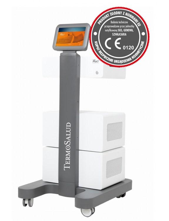 TERMOSALUD VMAT Urządzenie fala uderzeniowa + wibracja + mezoterapia