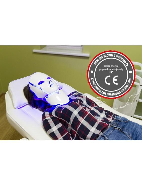 POLDERMA Maska LED do infuzji i galwanizacji