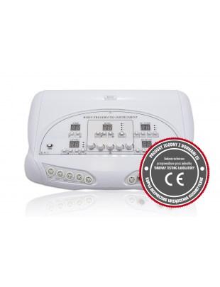 Urządzenie Elektrostymulacja 5w1 Elektrody labilne i podciśnieniowe