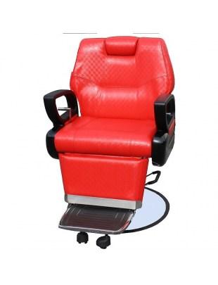Fotel fryzjerski Modica 1762 - czerwony