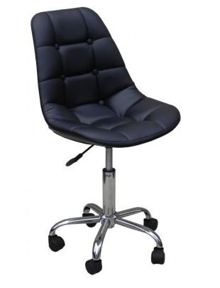Fotel kosmetyczny HC-1801K CZARNY