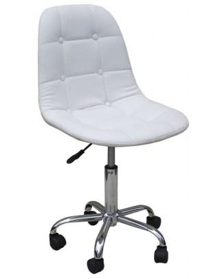 Fotel kosmetyczny HC-1801K BIAŁY