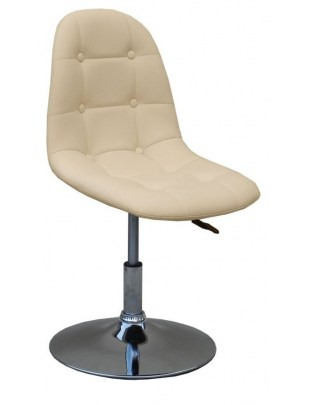 Fotel kosmetyczny HC-1801N KREMOWY