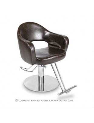Fotel fryzjerski AVENANT ciemny brąz