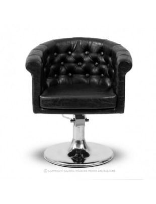 Fotel fryzjerski WERSAL czarny
