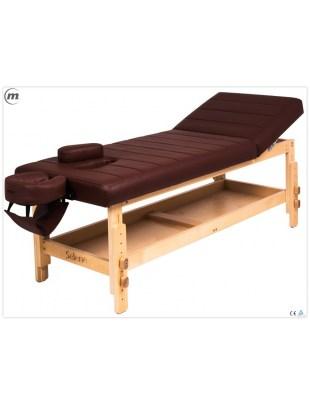 SELENE P - Stół do masażu na drewnianej konstrukcji