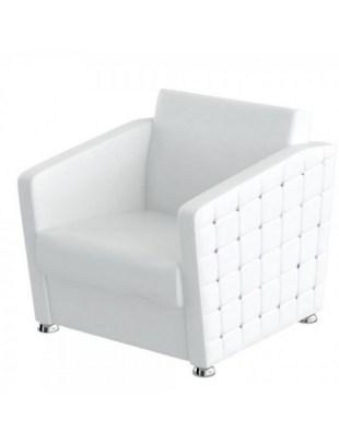 GLAMOUR - Fotel pikowany do poczekalni Swarovski® - PANDA