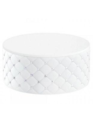 GLAMOUR - Pufo- stolik pufa do poczekalni Swarovski® | PANDA