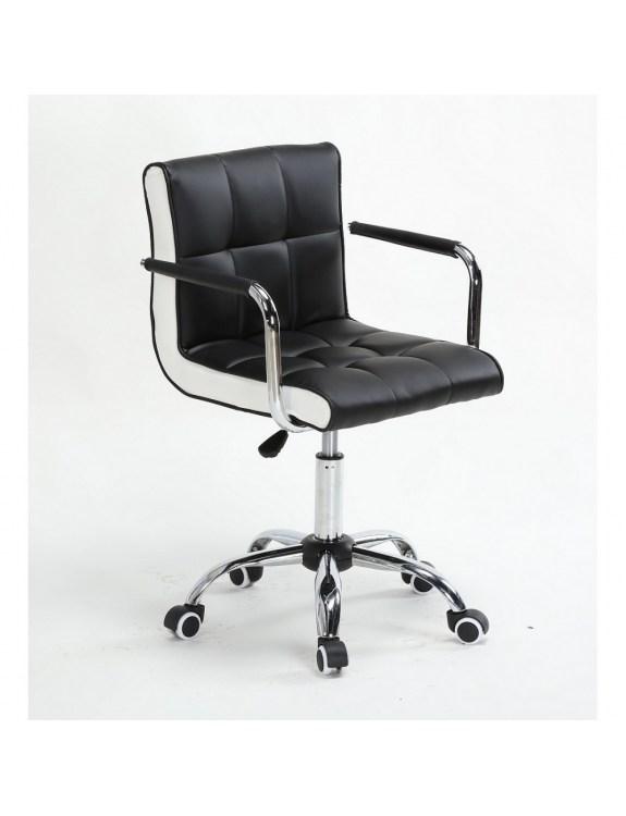 Fotel fryzjerski LAO czarny - kólka