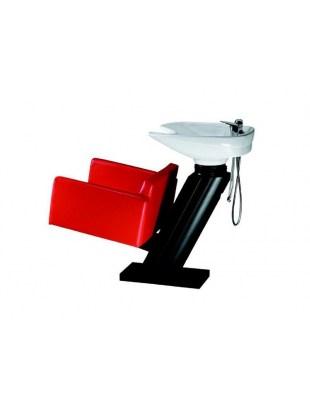 Myjnia fryzjerska FIGARO MILANO 1105 czerwona