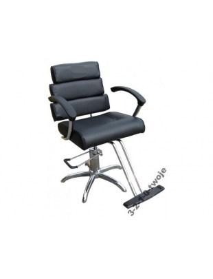 Fotel fryzjerski SYRACUS 1147 czarny