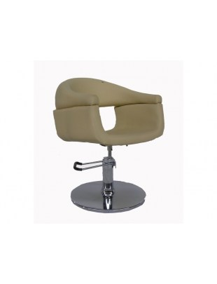 Fotel fryzjerski FIGARO FERRARA 1156 beżowy
