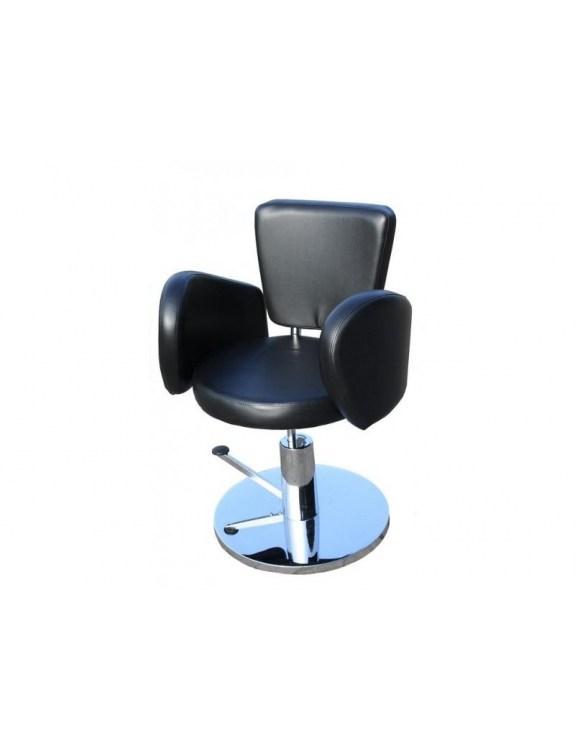 Fotel fryzjerski FIGARO CESANO 1367 czarny