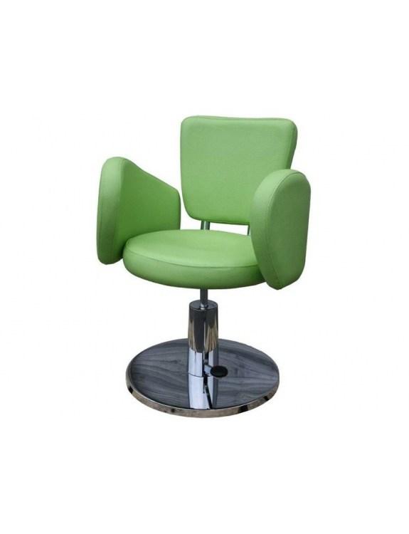 Fotel fryzjerski FIGARO CESANO 1367 zielony