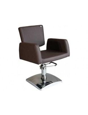 Fotel fryzjerski FIGARO GENOVA 1164 brąz