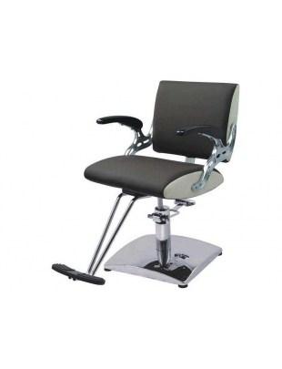 Fotel fryzjerski FIGARO PAVIA 1370 brąz/krem