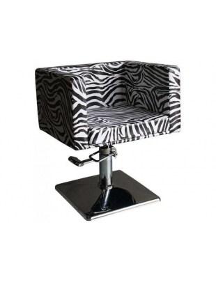 Fotel fryzjerski FIGARO MASSA 1374 zebra