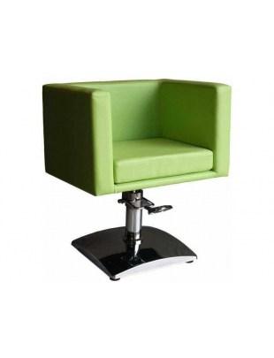 Fotel fryzjerski FIGARO MASSA 1374 zielona